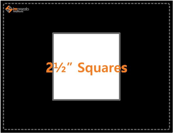 2 1/2 Square Template