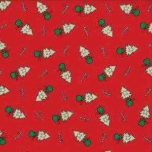 2942 11 Christmas Tree Red
