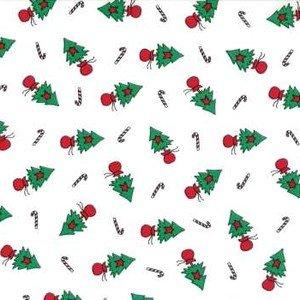2942 14 Christmas Tree White