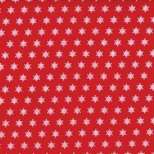 2946 11 Red Snowflakes