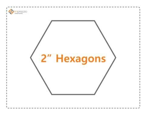 2 Inch Hexagons