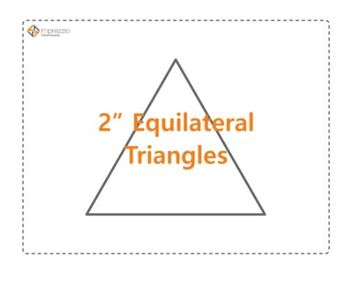 2 Inch Equilateral Triange