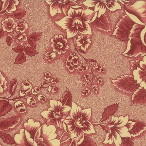 31590 13 Floral Red