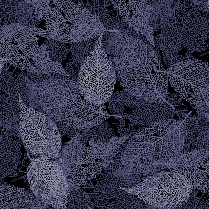 4478DS Grey Leaves