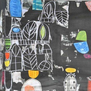 50764D 1 Black Panel