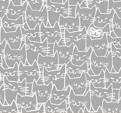 51121 3 Grey Cats