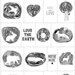 51496 Love the Earth Panel