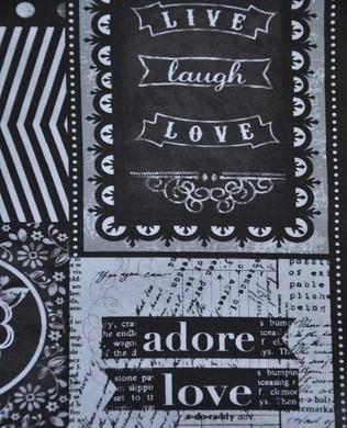 00598 Quotes Fabric