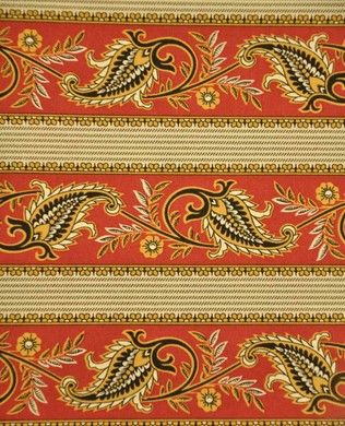 00990161 Paisley Red