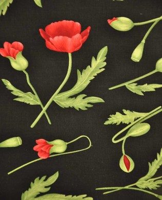 1050 Poppy Tossed Buds