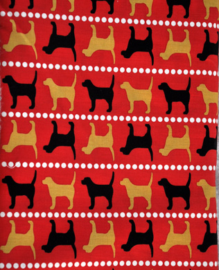 11340 193 Pooches Red