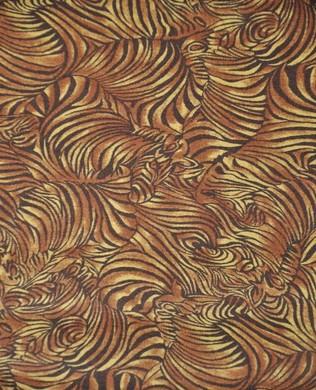 120 10811 Zebra Skin Tan