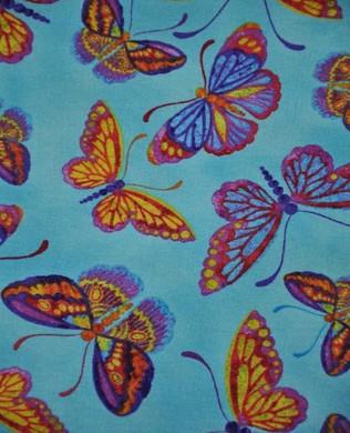120 10901 Blue Butterflies