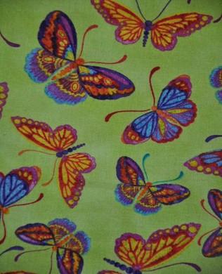 120 10902 Green Butterflies