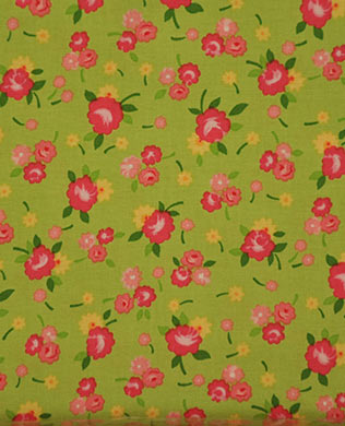 13004 Flowers on Lime