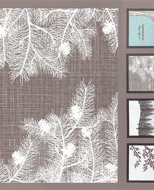 1309014 Winter Panel Grey