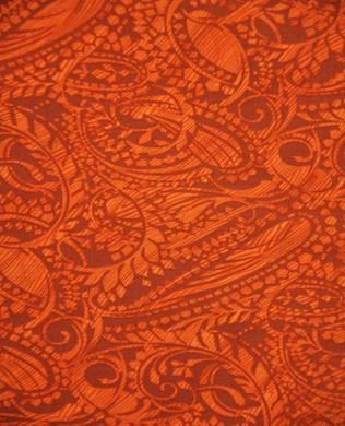 1324 807 Paisley Tangerine