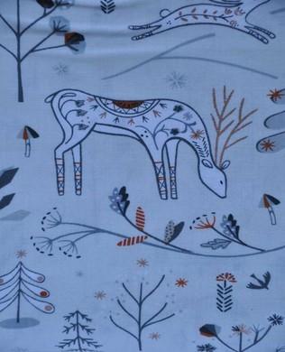 1338 White Deers Metallic