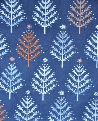 1342 Charcoal Trees Metallic