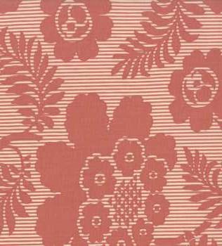13774 14 Rose Floral Stripe