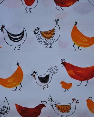 14819 1 Chickens White