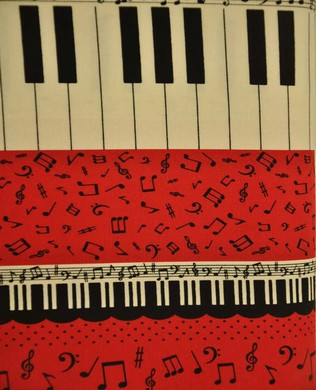 1506 1C Piano Red