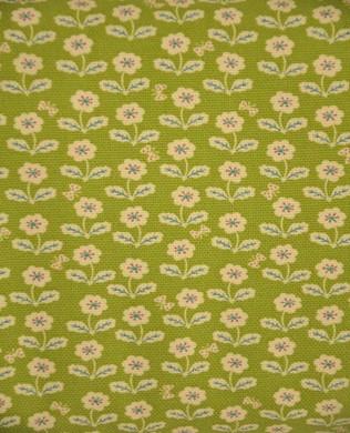 152138 B Smiley Flowers Green