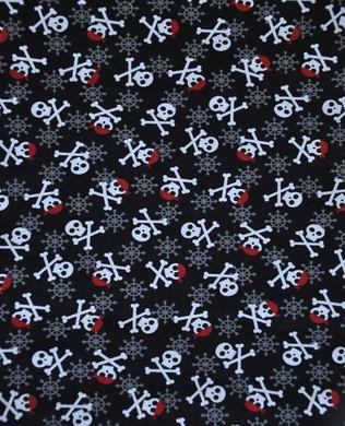 15637 2 Black Skulls