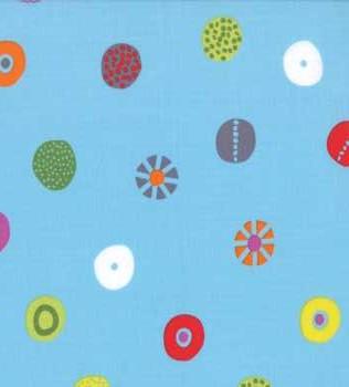 1602 14 Blue Colourful Circles