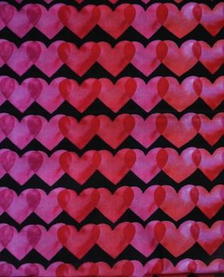 16461 2 Hearts Black