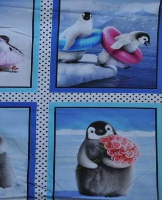 16567 205 Happy Penguins Multi