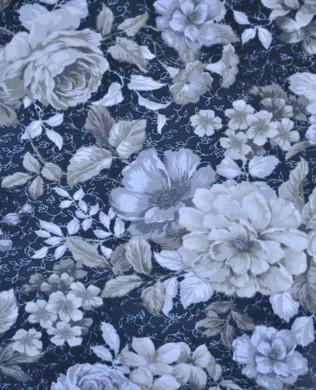 16960 183 Pewter Florals