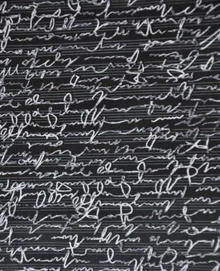 175142 Black Handwriting