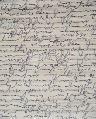 17514265 Cream Handwriting