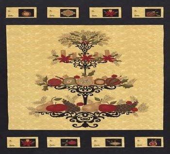 17770 11 Christmas Panel