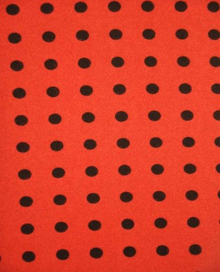 18145 Black Spots Red