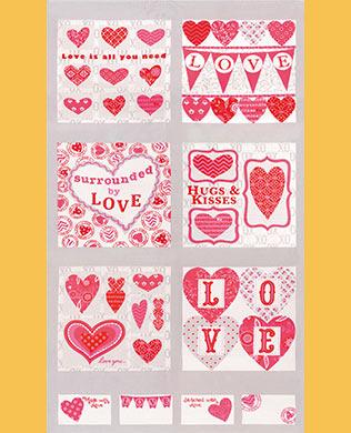 19650 13 Love Panel