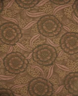 209133 Brown Floral