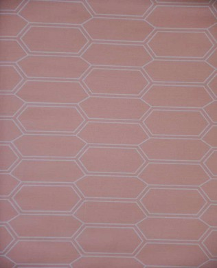 214280 43 Elongated Hex Orange