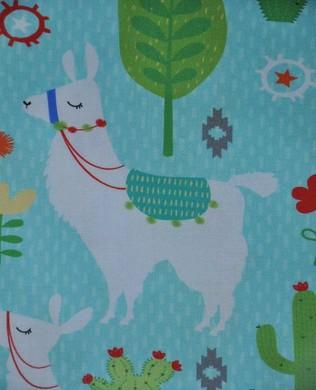21766 63 Llama on Light Blue