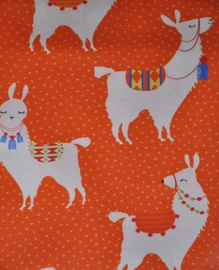 21807 58 Llama on Orange