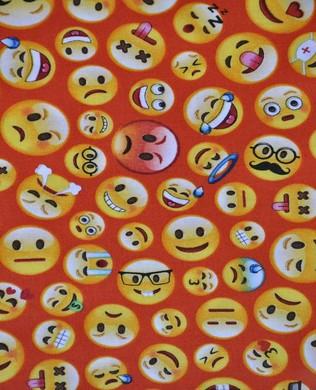 21838 24 Emojis on Red