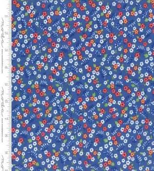 23308 12 Cornflower Floral