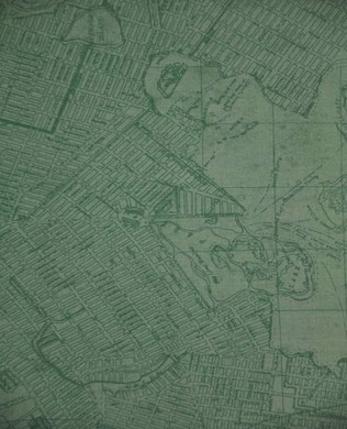23442 City Map Teal