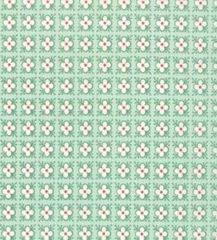 25095 17 Mint Square Flowers