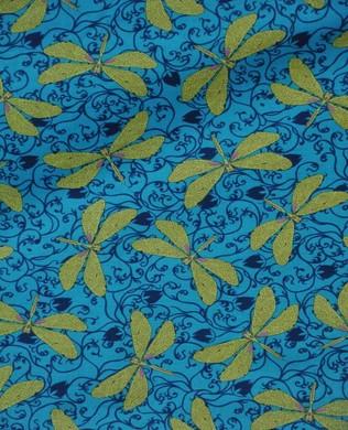26304 B Green Dragonfly Blue