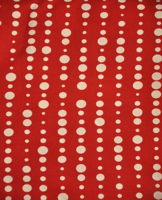 2867 88 Dots Spots Red