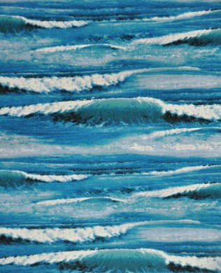297 Sea Quilts Blue