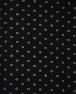 3053 Lge Grey Spots Black