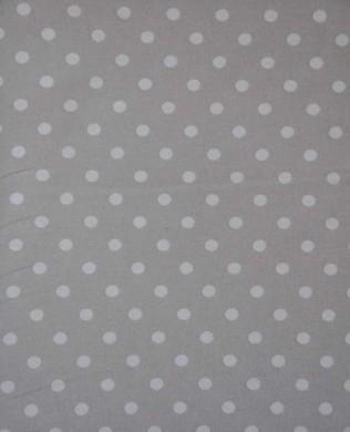 3053 Lge White Spots Grey